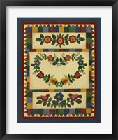 Framed Flower Quilt 1