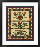 Framed Flower Quilt 2