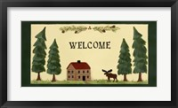 Framed Welcome - Cabin