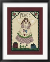 Peace Angel Framed Print