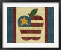 Framed Apple Flag