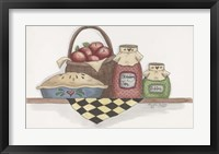 Framed Apple Pie With Basket
