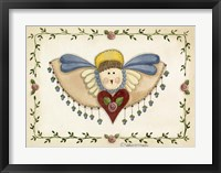 Beaded Angel Framed Print