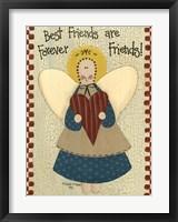 Best Friends Are Forever Framed Print