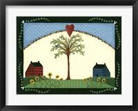 Summer Tree Framed Print