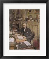 Framed Louis Loucheur