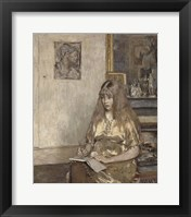 Framed Portrait of Genevieve Bernheim de Villers (1907-1936)