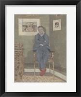 Framed Portrait of Felix Vallotton (1865-1925)