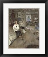 Framed Portrait of the Comtesse Jean de Polignac, 1928-30