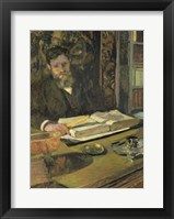 Framed Arthur Fontaine, c. 1906