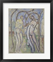 Framed Adam and Eve, 1888