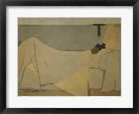 Framed In Bed (Au lit), 1891