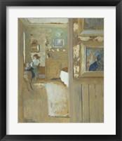 Framed At the House of Maurice Denis at Saint-Germain-en-Laye, c. 1905