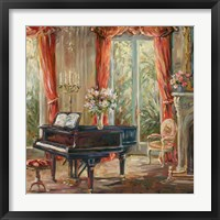 The Music Room I Framed Print