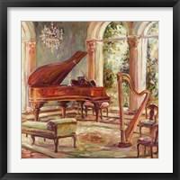 The Music Room II Framed Print