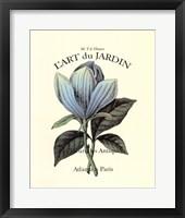Framed L'art Du Jardin II