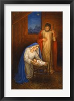 Framed Jesus Mary Joseph