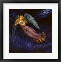 Framed Good Night Angel