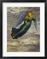 Framed Angel In The Clouds
