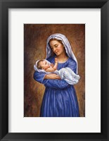 Framed Mary And Baby Jesus