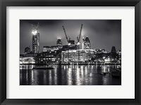 Framed London at Night