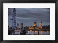Framed From Waterloo Bridge