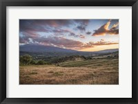 Framed Mount Etna
