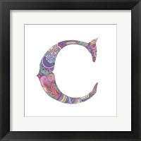 C Framed Print