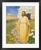 Framed Jesus Has Risen