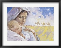 Framed Mary With Baby Jesus