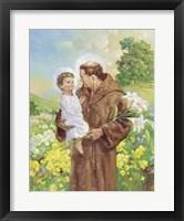 Framed St Francis