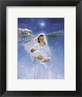 Framed Mary With Jesus