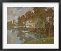 Framed South Port Harbor