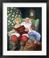 Framed Twas The Night Before Christmas