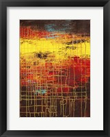Nimble Morning Canvas II Framed Print