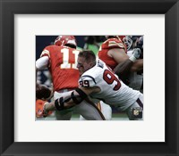 Framed J.J. Watt 2015 Action