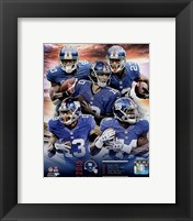 Framed New York Giants 2015 Team Composite