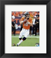 Framed Peyton Manning 2015 Action