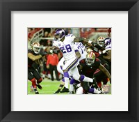 Framed Adrian Peterson 2015 Action