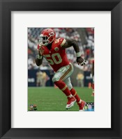 Framed Justin Houston 2015 Action