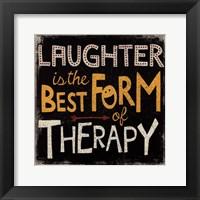 Framed laughter