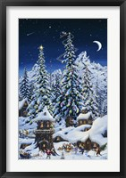 Framed Christmas With The Elves