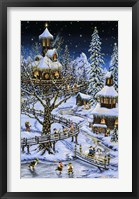 Woodland Holiday Framed Print