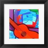 Homage To Juan Gris Framed Print