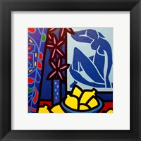 Homage To Matisse 1 Framed Print