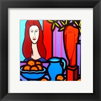 Homage To Modigliani 1 Framed Print
