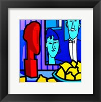 Framed Homage To Modigliani 2