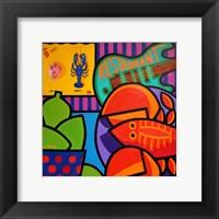 Framed Homage To Rock Lobster
