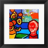 Framed Homage To Van Gogh 3