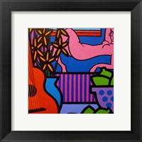 Still Life With Matisse 1 Framed Print